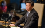 UN Photo/Loey Felipe - Xi Jinping addresses UNGA, September 2015