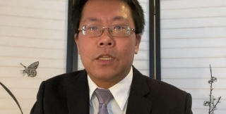 Chinese scholar Teng Biao speaks