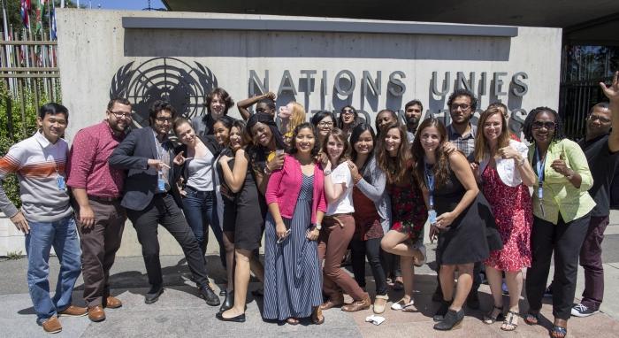 Group photo of HRDAP17 participants