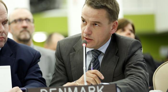 Photo: UN Photo/Rick Bajornas - Christian Friis Bach, Minister for Development Cooperation of Denmark
