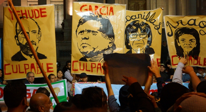 Bagua Caso protestas
