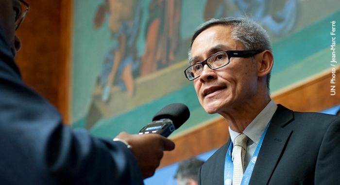 Photo of UN Independent Expert