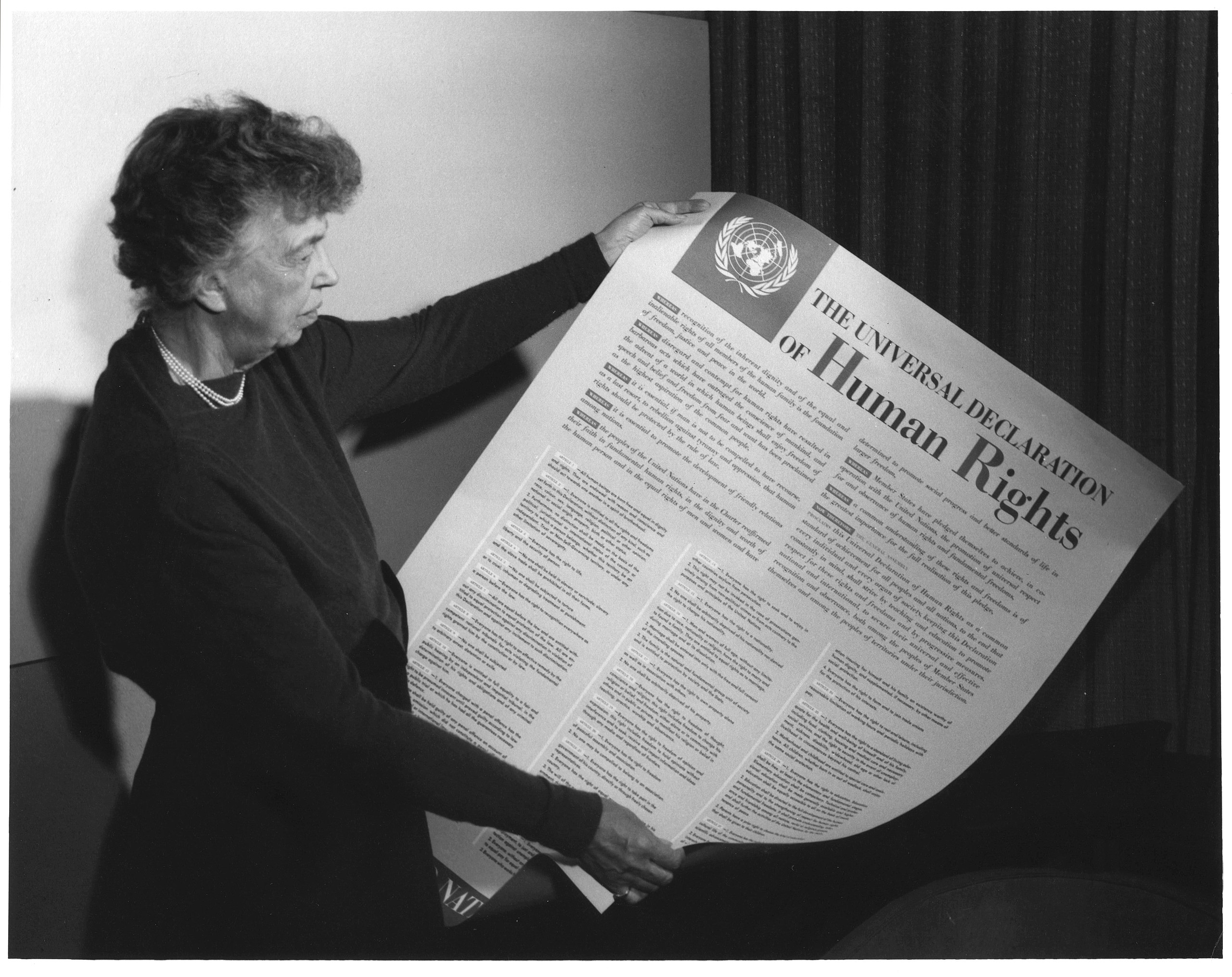 eleanor roosevelt universal declaration human rights