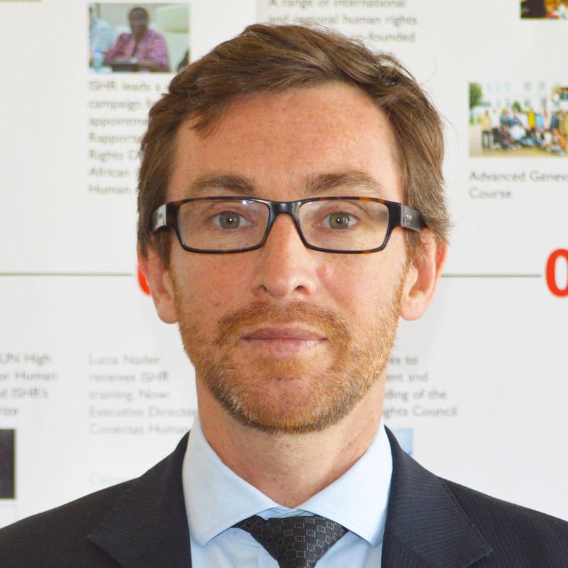 Profile Photo of ISHR director Phil Lynch